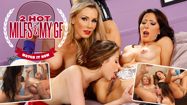 2 Hot Milf's And My GF 2